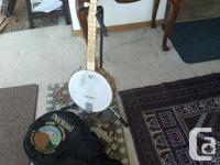Well used Deering Goodtime banjo, I have played this