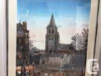 "3 lithographs by artist Michel Delacroix 1. 27"" broad x"