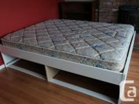 The package includes: Mattress in good condition. Firm