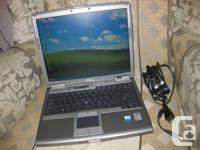 Dell D610 LAPTOP WITH WIRELESS WEB.  Pentium M (bus