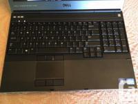 For sale is a powerful Dell Precision M4700 quad core