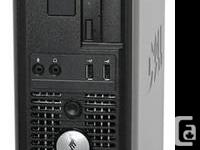 DELL Optiplex 580 Windows 7 Desktop computer COMPUTER.