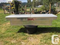 Delta Aluminum Full size truck box. Great condition