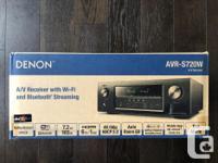 7.2 Channel Full 4K Ultra HD AV Receiver with built-in