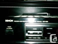 High quality Denon receiver model AVR-1000. Use for HT