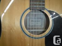 Built for the practicing musician, the full size DD44S