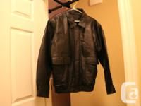 An XL Denver Hayes leather Jacket. In good Condition,