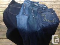 Four pairs of fantastic designer jeans including 1921,