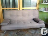 Designer Sofa-bed from Industrial Revolution ($300)