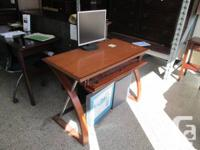 Brand new in the box Desk with pull down drawer front