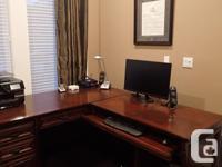 Desk (Modular). Modular office desk with Run-Off.