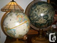 Desk top globes and more just arrived. Courtenay