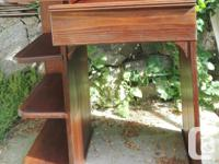 Antique desk from early 1900's. Solid wood possibly