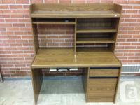 One solid all wood office desk. Very good shape. Asking