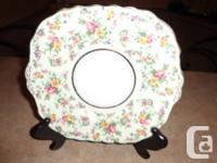 1 Colclough Antique Bone China Cake Plate - made in