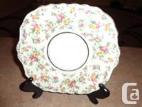1 Colclough Antique Bone China Cake Plate - made in