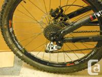 Devinci Ollie DH bike Avid brakes, Sram shifter &