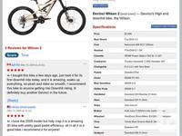 2009 Devinci wilson downhill bike for sale. Great