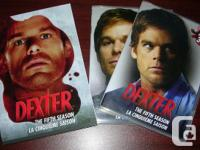 Dexter seasons 1 and 5 DVD sets. To see other CDs, DVDs