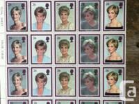 The initial official stamps bearing portraits of the