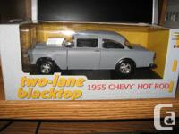 This rare mint condition Two Lane Blacktop 1955 Chevy