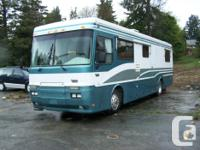 1993 Monaco Dynasty Mobile home. ONLY 115,000 KM.