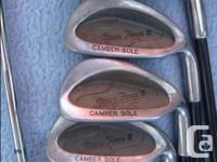 Have a few golf clubs. If you are interested in any of