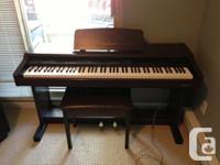 Digital Technics digital piano for sale. It is in
