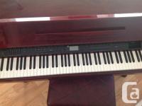 SAMICK DIGITAL PIANO. Model SXP511 Beautiful Baby Grand