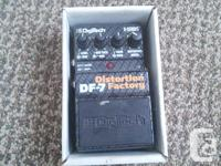 An old and barely used DF7 Distortion Factory pedal by