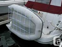 This is a new Rowboat Sling davit system made use of