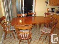 This offer is for a used dining roomkitchen table.