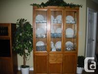 Dining Room Suite-Skylar Peppler mission oak with:
