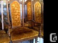 Sklar Pepplar originals. 6 dining rooms chairs. Made of