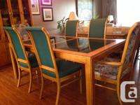 Beautiful, classy Dining Room set for sale.  This set