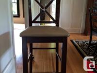 Moving! Bar height dining room table, with expandable