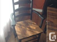 """*** LIKE NEW *** Table (78""""x40"""") Barnboard top, made"""