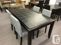 Great selection of dining room table and chair sets on