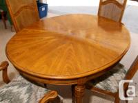 Beautiful condition Dining Room Suite for sale. Comes