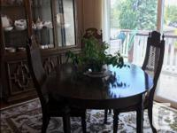 MUST SELL -- MOVING Walnut Dining room furniture Buffet