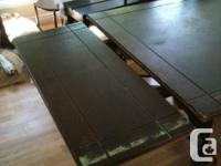 Dining Table, wood, needs some loving or enjoy the