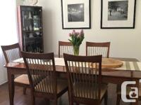 Full dining room 8 piece set. All in very good