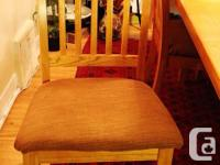 7 piece dining table, glass and also set hutch for