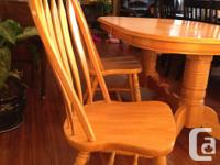 I have dinning set of solid wood with 6 chairs table