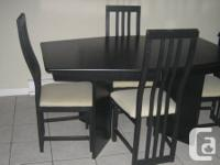 Dinning Table Set + Wall surface System  Table:.