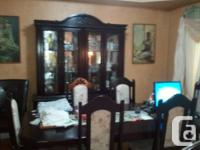 Dinning Table with six chairs and 3 Piece Sofa set for