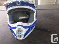 Excellent Condition FLY dirt bike helmet and shirt only