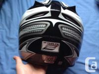 Youth large helmet for sale basically like new . Reason
