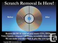Disc Refinishing, for only $6.00!   Do you have games,