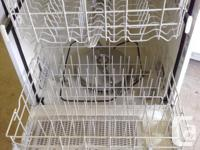 Several portable and under counter dishwashers
